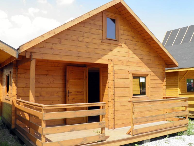 Domy z drewna. Producent domów z drewna Dom-Hurt